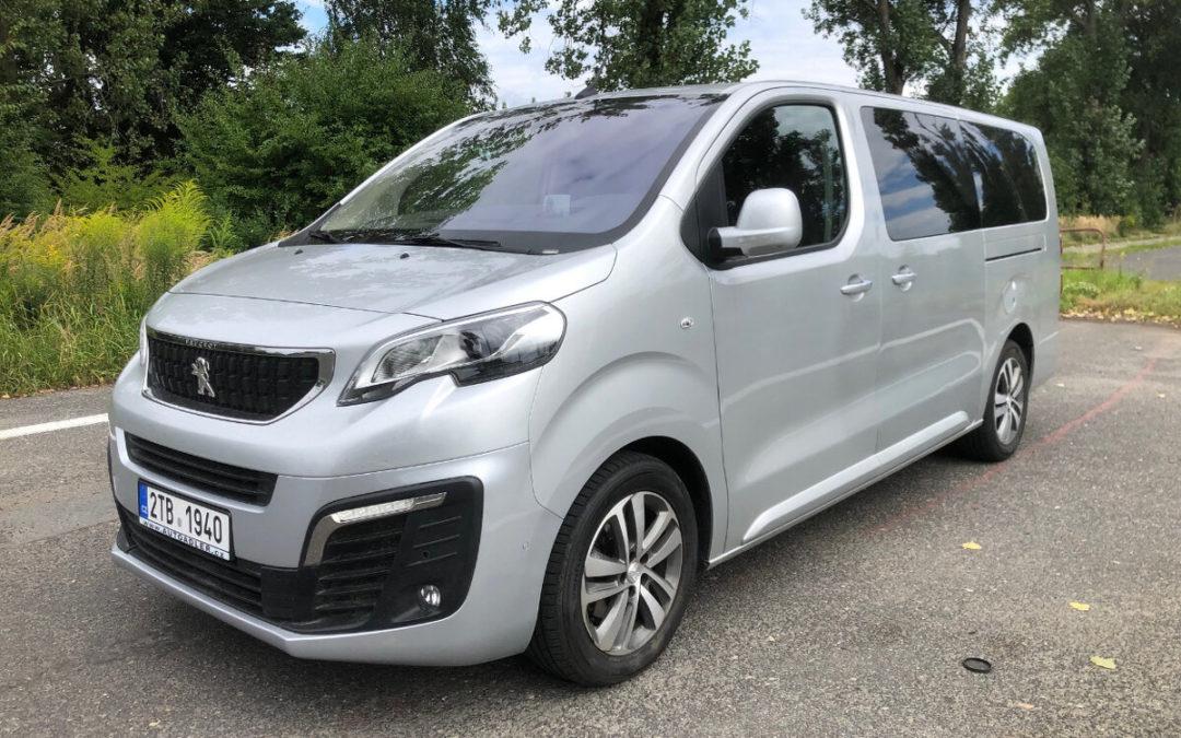 Peugeot Traveller 2.0HDi Allure LONG 180PS Automat 8 míst